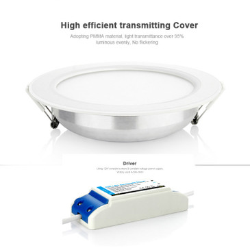 12W RBG+CCT LED Downlight - 16 Million Colours Inc. Cool and Warm White