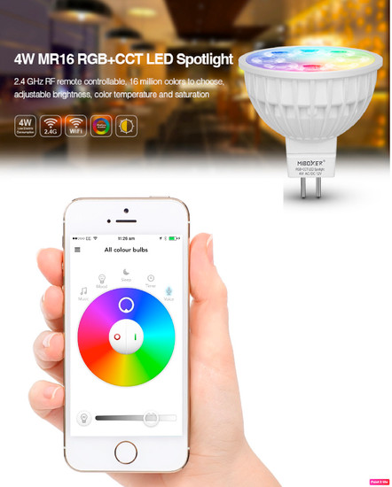 MR16 Smart Light LED downlight