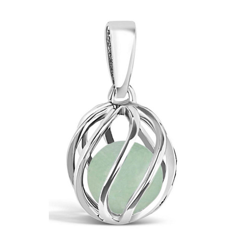 Celebrate a May birthday with a Jade birthstone necklace! Twist version