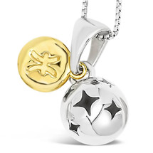 Zodiac silver pendant - Pisces - Feb 19 - Mar 20