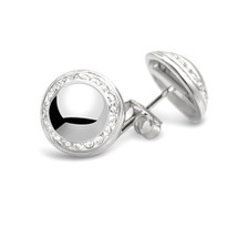 Moments & Milestones Silver Stud Earrings - Celebrated