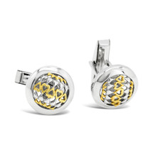 Forever Love - Silver Cufflinks