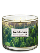 FRESH BALSAM -- The World's Best 3-Wick Candle by Bath & Body Works