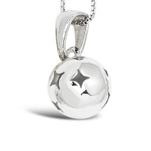 Comet - reach for the star sterling silver necklace (cute size)
