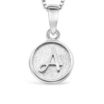 Sterling Silver 'A' pendant