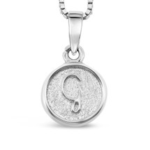 Sterling Silver 'G' pendant