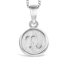 Sterling Silver 'N' pendant