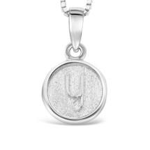Sterling Silver 'Y' pendant
