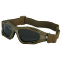 Military Tactical Mojave GOGGLES - DESERT TAN
