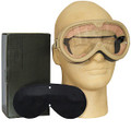 Military Tactical Sun Dust &Wind GOGGLES Desert TAN