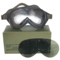 Military Tactical Sun Dust &Wind GOGGLES SWAT Black