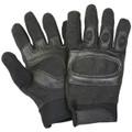 Tactical Hard Knuckle Assault SWAT Gloves BLACK
