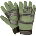Tactical Hard Knuckle Assault SWAT Gloves OD