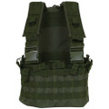 Tactical Military Commando Chest Rig & Hydro Pack OD