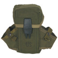 USGI military US Army Surplus M16 Ammo OD Mag Pouch