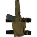 Tactical Commando Leg Holster for Lights & Lasers - TAN