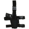 Tactical Commando Leg Holster for Lights & Lasers - BLACK