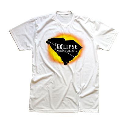Total Eclipse South Carolina Kids T-shirt