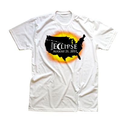 Kids Total Eclipse USA T-shirt