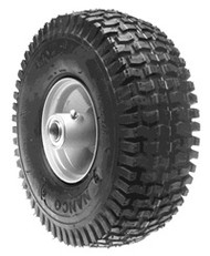 WHEEL ASSEMBLY 4.10 X 4 SNAPPER(GRAY) - (SNAPPER) - 10892
