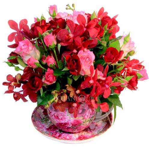 Flowers online gold coast winter and spring flowers australia flowers gold coast australia teacup largeg mightylinksfo