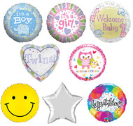 New Baby Helium Foil Balloons