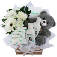 Mother Nature Grey Eco Friendly natural baby hamper