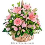 Sympathy Flower Basket Gold Coast
