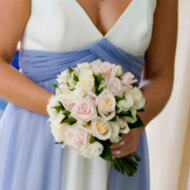 Wedding rose posy 24 roses