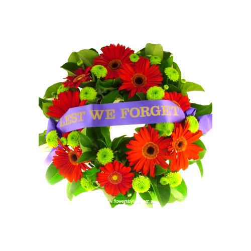 Anzac Wreaths Lest We Forget Flowers Botanique