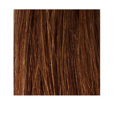 "18"" Nail Tip Human Hair Extension 1g - #7 Rich Brown"
