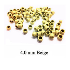 Hair Extension Screw Rings 4mm