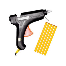 Black Glue Gun with Amber Glue
