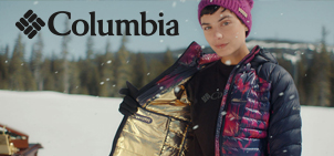 Columbia Outdoor Gear   only at Arthur James Clothing Company