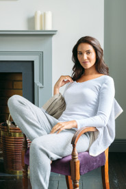 Womens brushed thermal long sleeve top by Vedoneire of Ireland