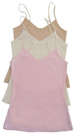 3 pack Cami Vest set of Nude, Cream and Pink
