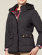 Womens Navy Blue Quilted Jacket Coat