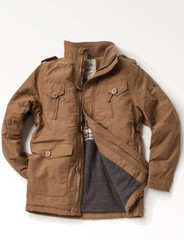 Men's Cotton Artic Jacket (3048) Camel