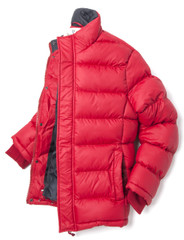 Men's Soft Shell Padded Ski Jacket (3064) Red