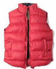 Mens Padded Gilet (3063) Red - by Vedoneire of Ireland - puffy puffa vest