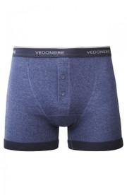 Mens plain Boxer Shorts (A001, Denim)