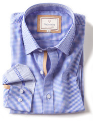 2286 Blue Pink Check
