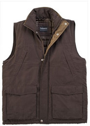 Men's Padded Bodywarmer  (Brown 3001)
