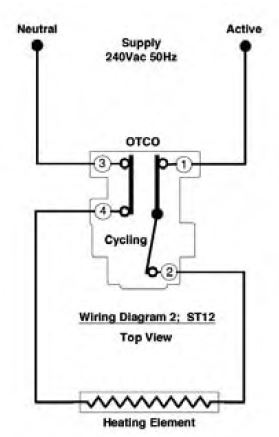 electric hot water heater thermostat, robertshaw st12 ... robertshaw water heater thermostat wiring diagram #5
