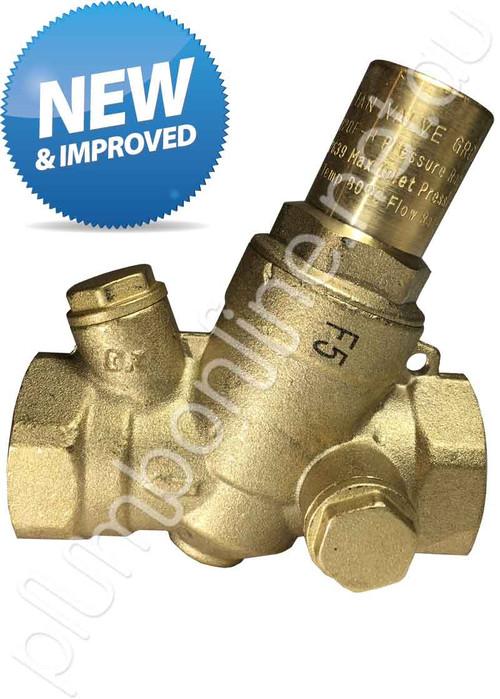 Pressure Reduction Valve 20mm FxF (Female BSP) Range 250kpa - 600kpa
