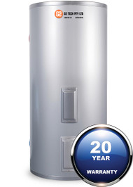 250 litre Electric Stainless Steel Tank Solar Ready