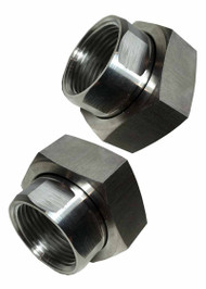 Circulating Pump Union Set Stainless Steel - 1 1/2 by  1 inch