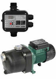 DAB Pumps 82M JETCOM ACTIVE Pressure Water Pump with iPress Pump Controller