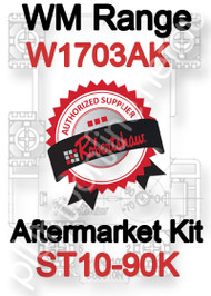 Robertshaw ST 10-90K Aftermarket kit for WM Range W1703AK