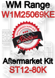 Robertshaw ST 12-80K Aftermarket kit for WM Range W1M25069KE